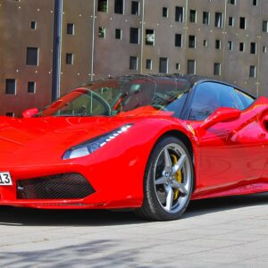 rent a ferrari 488 gtb in frankfurt