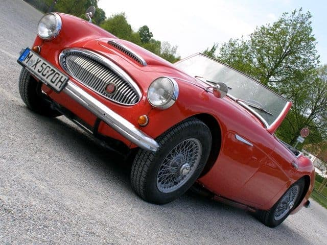 rent an mg roadster munich