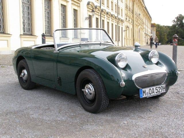 rent an austin healey munich