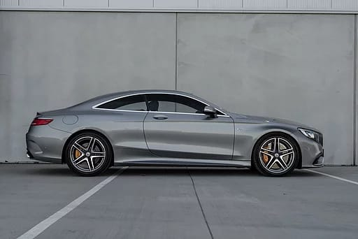 mercedes s63 amg silhouette