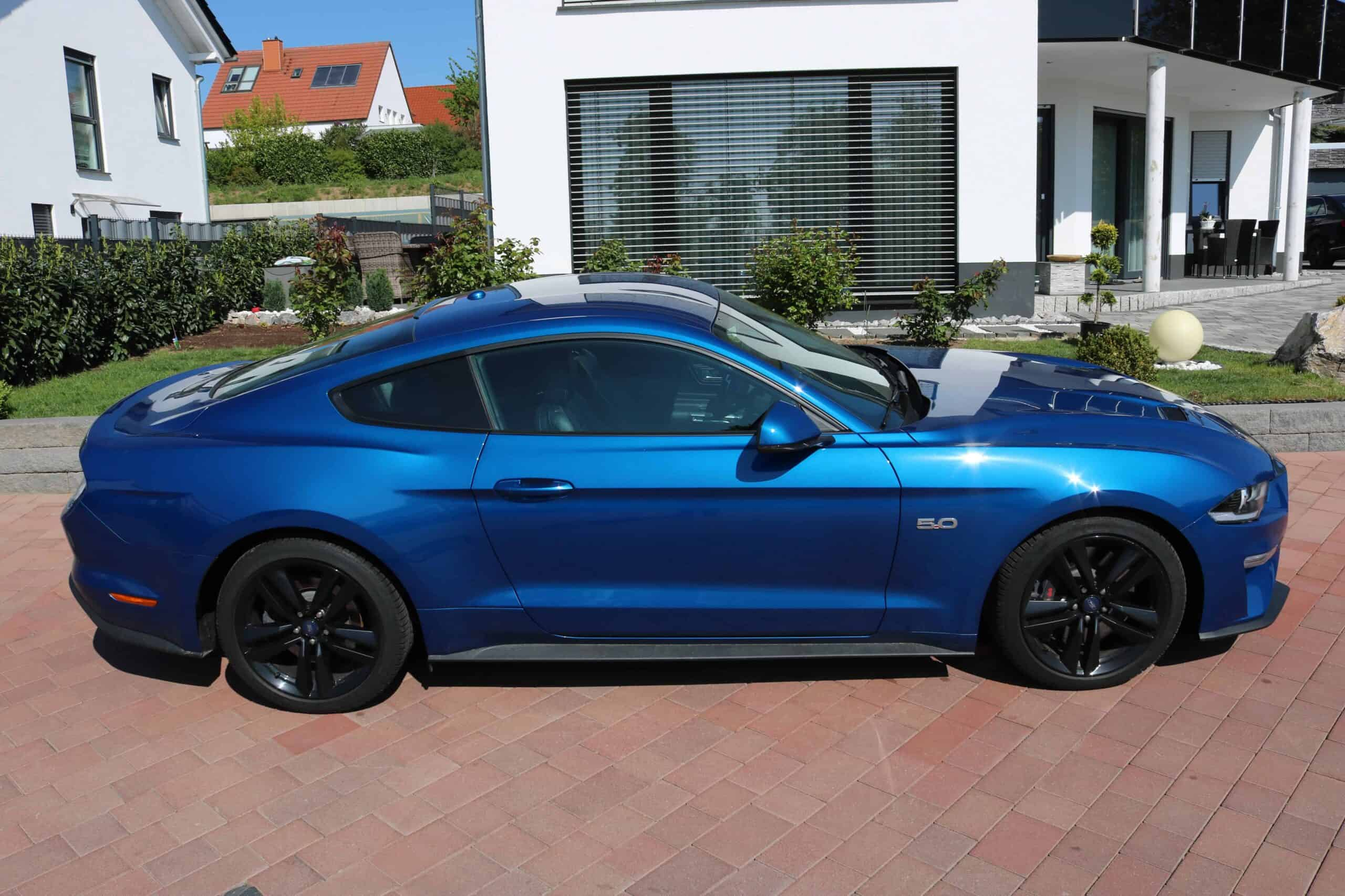 ford mustang gieesen side