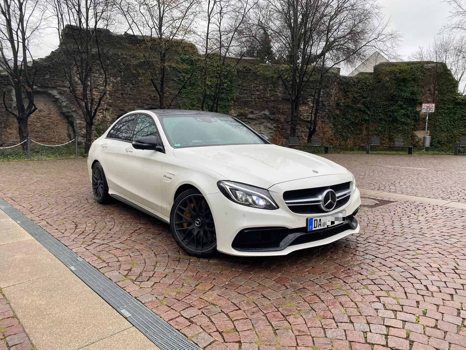 rent a mercedes c63s amg in darmstadt