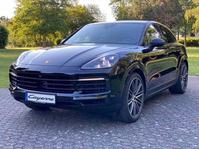 rent a porsche cayenne coupe in cologne