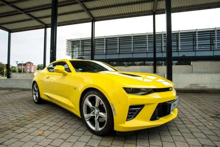 Rent A Chevrolet Camaro Ss V8 Drivar Muscle Car Rental Germany