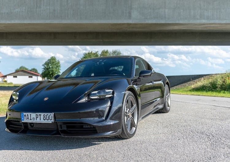 rent a porsche taycan turbo in munich