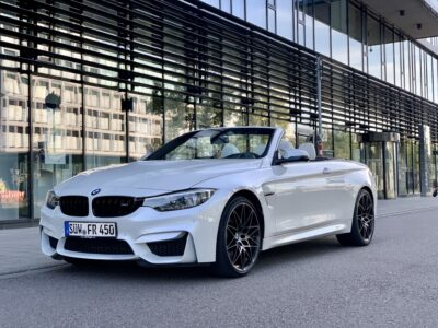 rent a bmw m4 competition convertible in karlsruhe