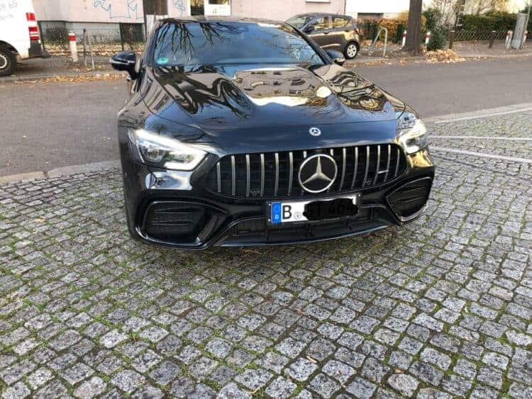 rent a mercedes amg gt 53 4matic+ in berlin