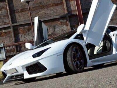 Rent Lamborghini Aventador in Heidelberg