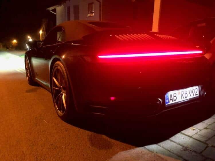 Porsche 911 in frankfurt