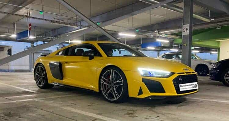 Audi R8 V10 Performance in Dortmund