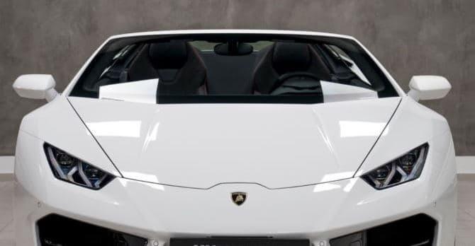 Lamborghini Huracan Spyder mieten 1