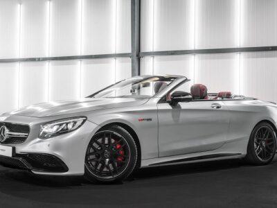 Rent a Mercedes C63S AMG Convertible