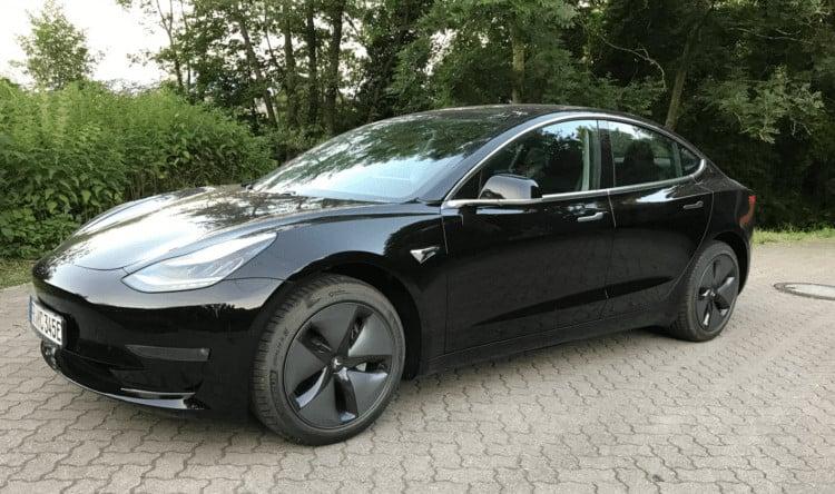 Tesla Model 3 in Freiburg