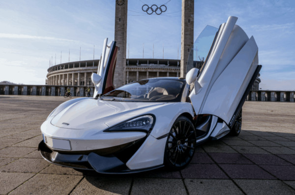 McLaren mieten in Berlin