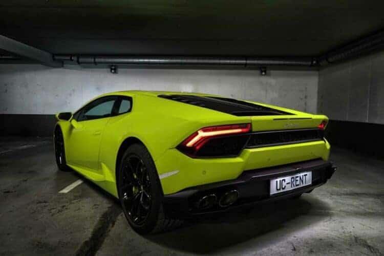 Rent a Lamborghini Huracan LP-610 in Frankfurt 4