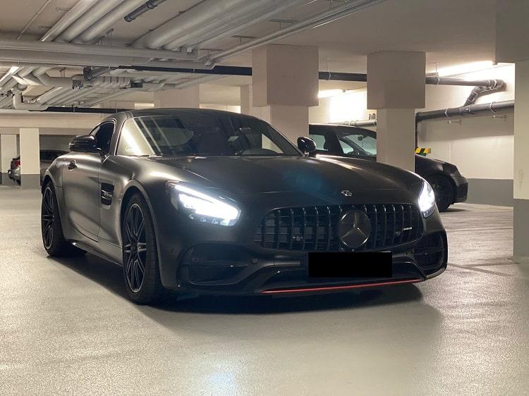 Rent a Mercedes AMG GT-C Roadster in Hamburg