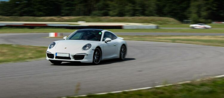 porsche 911 racetrack training