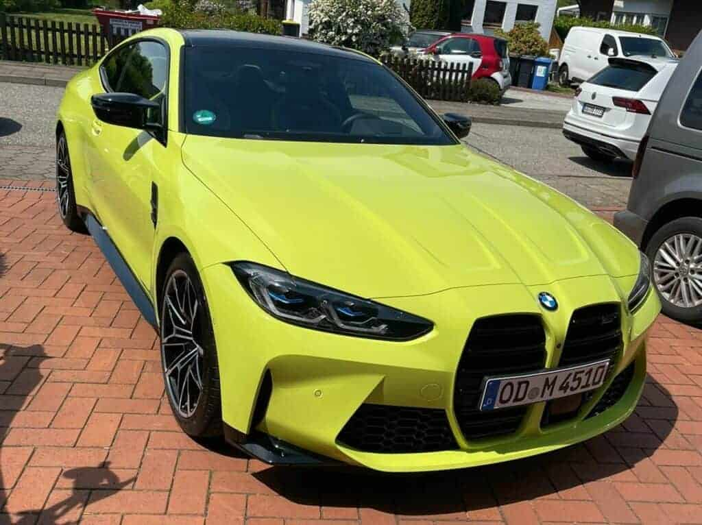 rent a bmw m4 competition g82 in hamburg