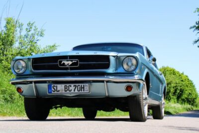 Rent a 1965 Ford Mustang in Flensburg