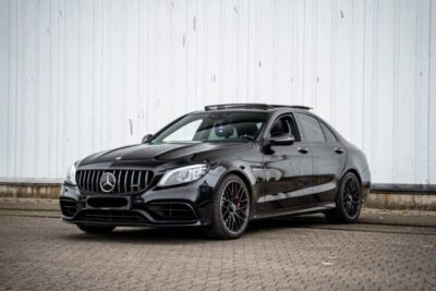 Rent a Mercedes C63S AMG in Bielefeld