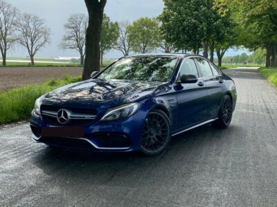 Rent a Mercedes C63S AMG in Hannover