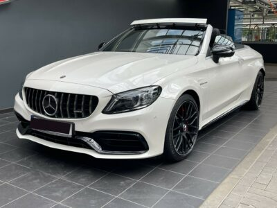 Rent a Mercedes C63S AMG Convertible in Hannover