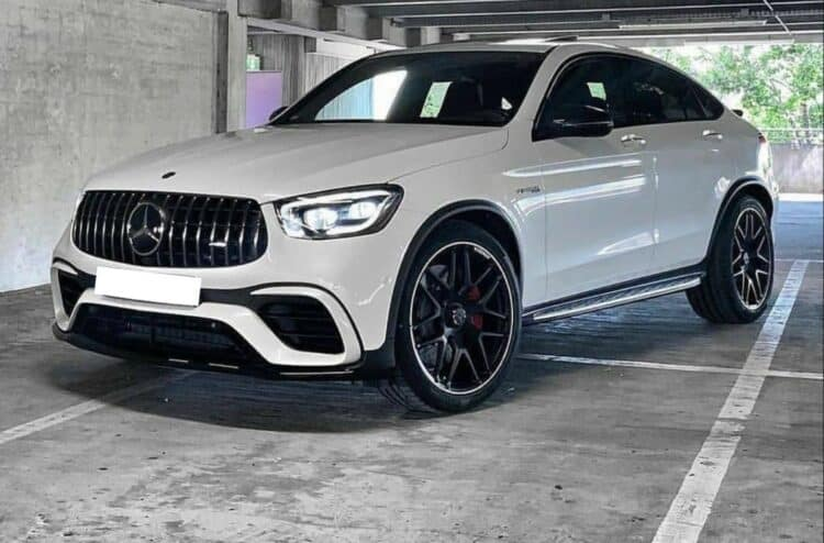Rent a Mercedes GLC 63 S AMG in Hannover