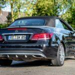 Mercedes E-class convertible