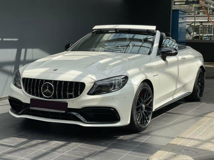 Mercedes C63S AMG Convertible